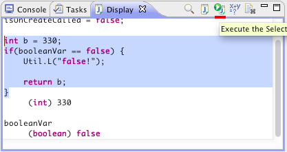 display-execute